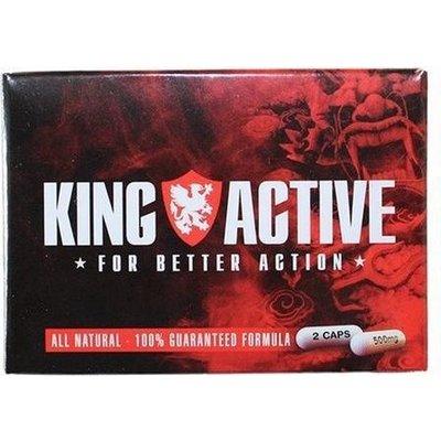 King Active Stimulerende Natuurlijke Erectiepillen