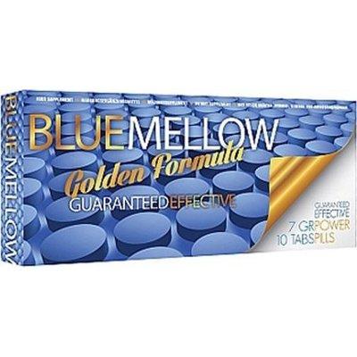 Blue Mellow Gouden Formule Erectiepillen 10 stuks