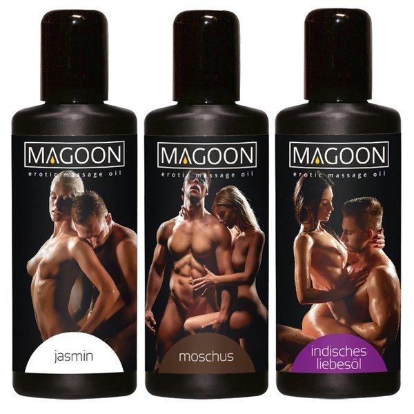 Magoon Magoon Massage Olie set 3 Varianten 50 ml