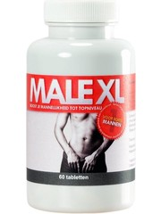 Male XL Male XL Supplementaire Erectiepillen 60 stuks