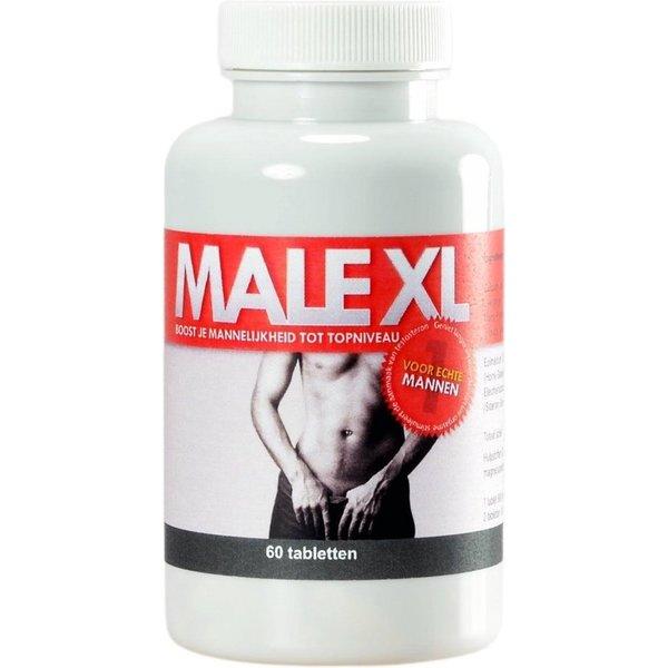 Male XL Male XL Supplementaire Erectiepillen 60 stuks