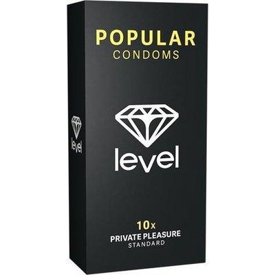 Level Condooms Popular Private Pleasure Standaard Condooms 10 stuks