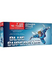 Blue Superstar Blue Superstar Erectiepillen 10 stuks