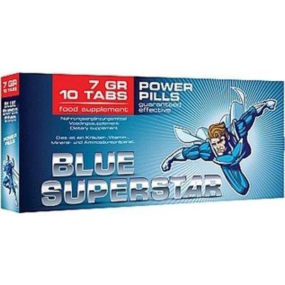 Blue Superstar Erectiepillen 10 stuks