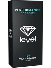 Level Level Private Pleasure Energy Condooms 10 stuks