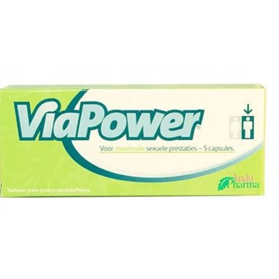 ViaPower Libido Stimulerende Erectiepillen Man 5 stuks