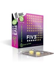Five FIV3  Erectiepil Supersnelle Opname Onder de Tong 2 stuks