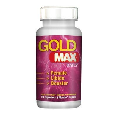 Gold Max Libido Supplement  Daily voor Vrouwen 60 stuks