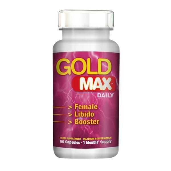 Gold Max Gold Max Libido Supplement  Daily voor Vrouwen 60 stuks
