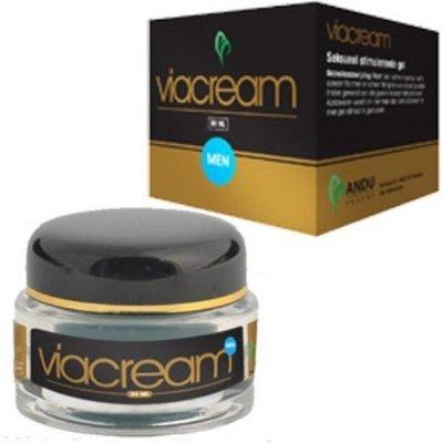 ViaCream Man Erectie Stimulerend Glijmiddel 30 ml