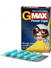 Gmax G-Max Power Natuurlijke Stimulatie Capsules 10 stuks
