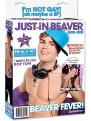 Pipedream 'Just in Beaver' Beroemde Sexpop 'Justin Bieber'