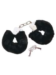 Bad Kitty Verwijderbare Pluche Handboeien met Veiligheidspin