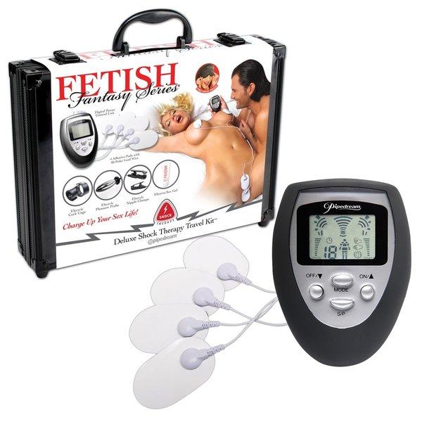 Fetish Fantasy  Shock Therapy Electro Stimulatie Kit 7 Delig