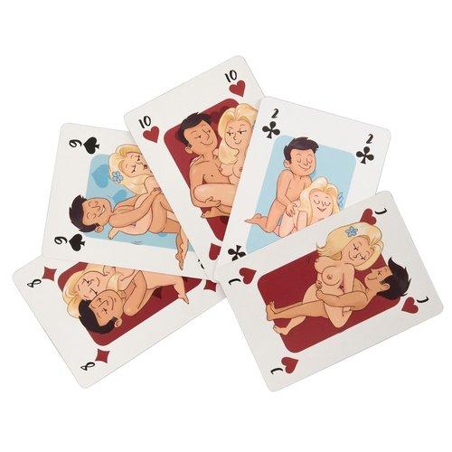 You2Toys Kama Sutra Speel Kaarten met Sex Standjes