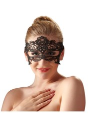 Cottelli Collection Accessoires Sensueel Geborduurde Kanten Masker