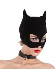 Bad Kitty Fluwelen Wilde Kat Hoofd Masker