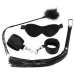 Bad Kitty BDSM Fetish Beginners Set 4 Delig voor Koppel Gebruik – Zwart