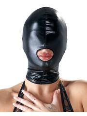 Bad Kitty Wetlook Bondage Masker met Mond Opening