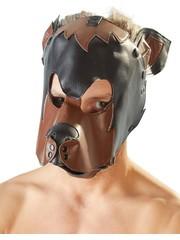 Fetish Collection Honden Masker van Imitatie Leer Pet Play