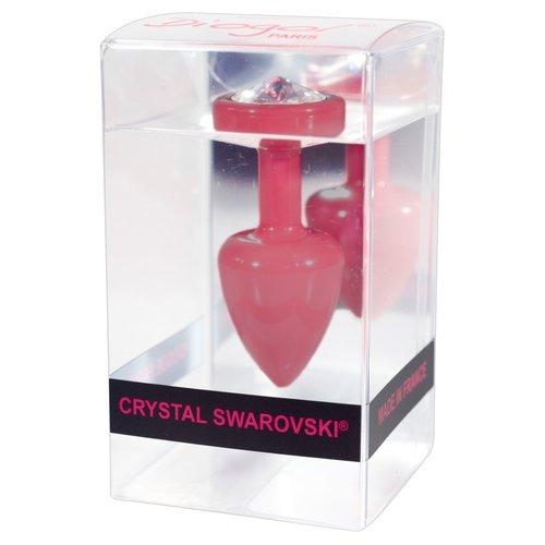 ANNI by Diogol Metalen Buttplug T1 met Swarovski Kristal 6 cm