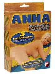 You2Toys Anna de Zweedse Opblaaspop Gehurkt