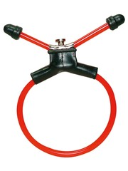 You2Toys Red Sling PVC Verstelbare Penis Ring Strop