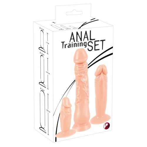 You2Toys Anale Training Set 3 Delige Buttplugs Penis Vormen