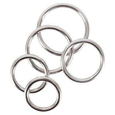 5 Delig RVS Penis Ringen Set