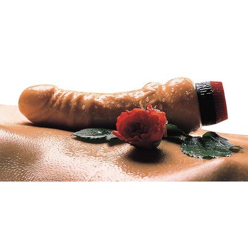 You2Toys Basic Natuurlijke Vibrator in Geplooide Penis
