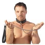ZADO Aanlijn Ketting en Lederen Polsband Exclusief Halsband