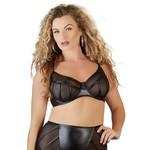 Cottelli Collection Plus Sexy Beha met Transparante Inzetstukken Wetlook