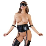 Cottelli Collection Bondage Bondage Taille Korset met Wetlook Uitstraling
