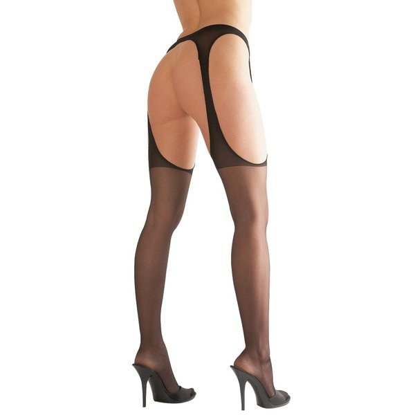 Cottelli Collection Stockings & Hosiery Sexy Jarretel Kousen met Uitdagende Look