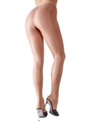 Cottelli Collection Stockings & Hosiery Erotische Heup Panty met Satijnen Glans