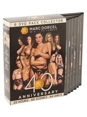 Marc Dorcel Marc Dorcel 40th Anniversary Pack 6 DVD Pakket