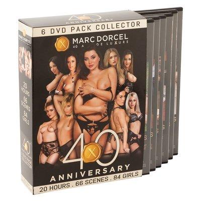 Marc Dorcel 40th Anniversary Pack 6 DVD Pakket