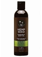 Earthly Body Earthly Body Hemp Seed Massage en Body Olie