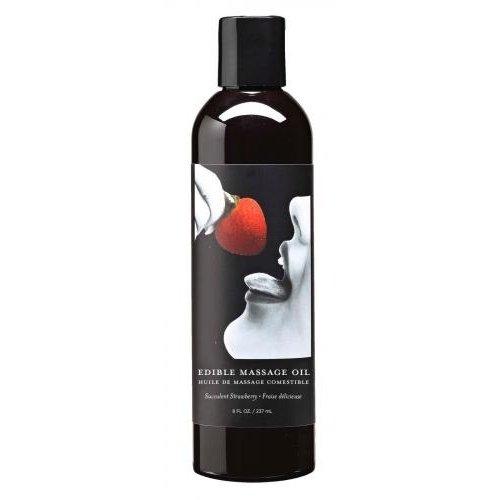 Earthly Body Earthly Body Eetbaar Massage Olie met Smaak
