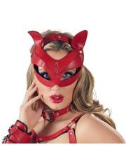 Bad Kitty Katten Hoofdmasker met Halsband Verstelbaar