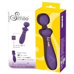Sweet Smile Draadloze Wand Massager met Geribbelde Kop Flexibel