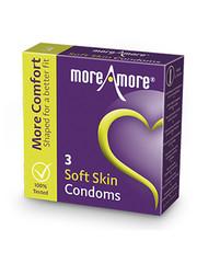 MoreAmore MoreAmore Condooms met Extra Comfortabele Pasvorm