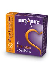 MoreAmore MoreAmore Thin Skin Condooms Extra Dun