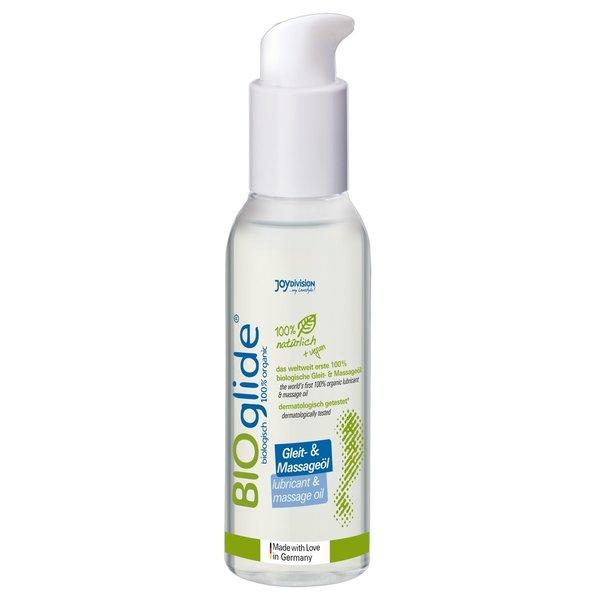 JoyDivision BIOglide Glij en Massage Olie 100% Biologisch 125 ml