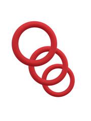 Giddy Up Siliconen Penis Ringen Set Rekbaar en Huidvriendelijk