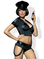 Obsessive Sexy Politie Kostuum met Accessoires
