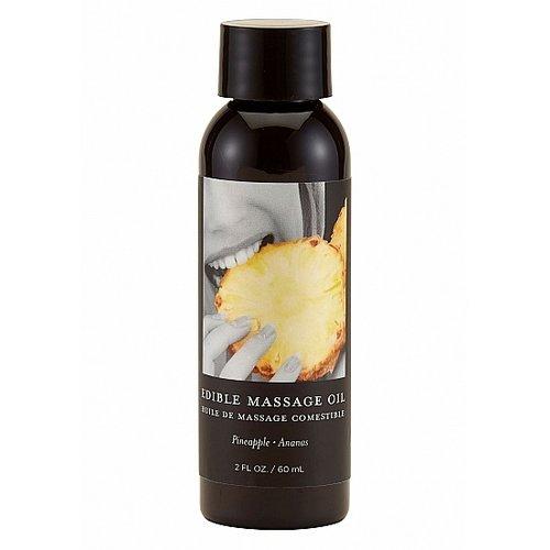 Earthly Body Earthly Body Eetbaar Massage Olie met Smaak 60 ml