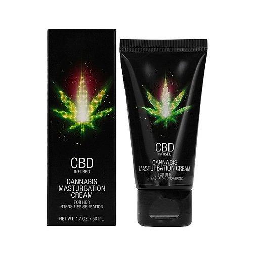 CBD CBD Cannabis Masturbatie Crème voor Haar 50 ml