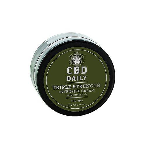 Earthly Body CBD Daily Extra Triple Strength Intensieve Huidverzorging Crème 48 gr