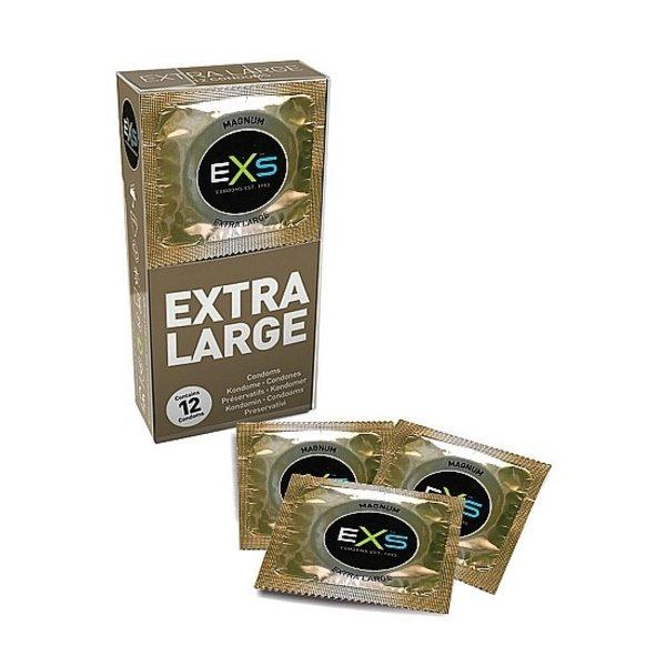 EXS EXS Magnum Extra Large Premium Condooms 12 stuks